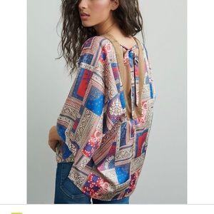 NWOT Anthropologie Felicity Tunic blouse